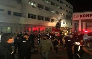 Ankara'da psikiyatri hastası yatağını tutuşturdu:...