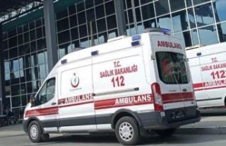 Ankara'da su kanalı kazısında göçük: 1...