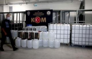 Ankara'da yılbaşından bu yana 58 bin litre...