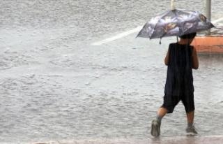 Meteoroloji'den sağanak yağış uyarısı!...