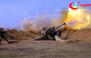 Azerbaycan-İran sınırının işgal altındaki kısımları...