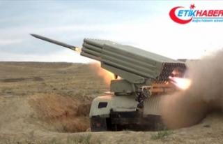 Azerbaycan ordusu, Ermenistan'a ait savaş uçağını...