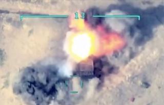 Azerbaycan ordusu, Ermenistan ordusunun havan topu...