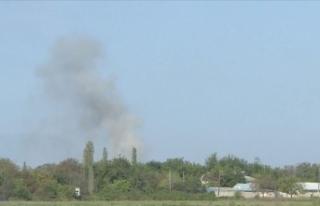 Azerbaycan ordusu bazı stratejik tepeleri işgalden...