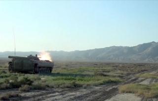 Azerbaycan ordusu Cebrail ilinin 3 köyünü daha...