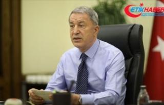 Bakan Akar: Yunanistan'la istikşafi görüşmelerde...