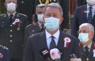 """Bakan Akar: """"Azerbaycan Türkü kardeşlerimizin..."""