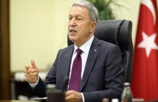 Bakan Akar: İzmir'deki depremde Kara, Deniz...