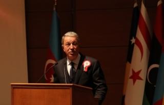 Bakan Akar, Libya Genelkurmay Başkanı El-Haddad'ı...