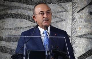 """Dışişleri Bakanı Çavuşoğlu: """"PKK terörü..."""