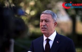 Bakanı Akar: Ermenistan'ın ne uluslararası...