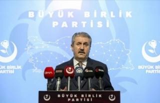 BBP Genel Başkanı Destici: Katil Ermenistan her...