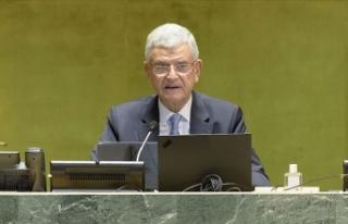 BM 75. Genel Kurul Başkanı Bozkır: Cinsiyet eşitliği...