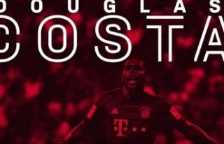 Brezilyalı futbolcu Douglas Costa, Bayern Münih'e...