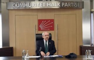 CHP Genel Başkanı Kemal Kılıçdaroğlu Yılmaz...