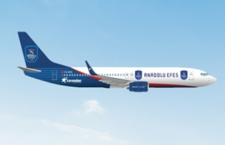 Corendon Airlines, Anadolu Efes Spor Kulübü'ne...