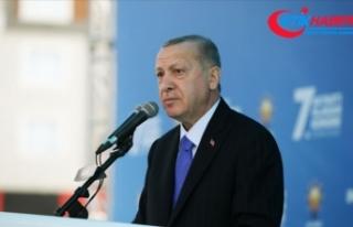 Cumhurbaşkanı Erdoğan: İzmir'de evleri yıkılan...