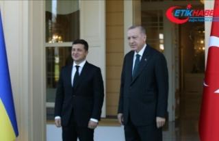 Cumhurbaşkanı Erdoğan ve Ukrayna Devlet Başkanı...