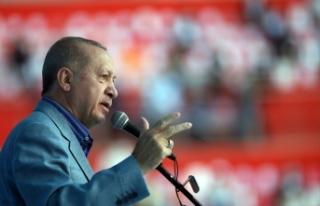 Cumhurbaşkanı Erdoğan: Bu terör bataklığını...