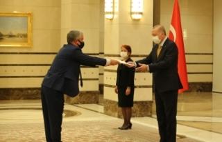 Cumhurbaşkanı Erdoğan, Danimarka Büyükelçisini...