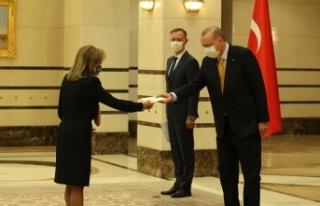 Cumhurbaşkanı Erdoğan, Panama Büyükelçisini...