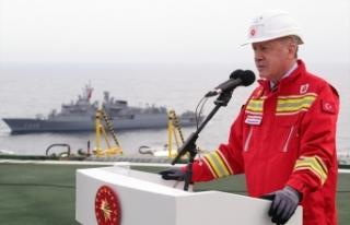 Cumhurbaşkanı Erdoğan: Sakarya Sahası'nın...