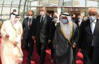 Cumhurbaşkanı Erdoğan taziye için Kuveyt'i...