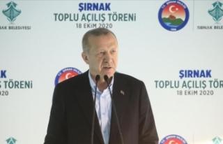 Cumhurbaşkanı Erdoğan: Ülkemiz, 18 yılda yapılan...