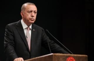 Cumhurbaşkanı Erdoğan'dan Ersin Tatar'a tebrik