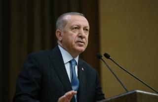 Cumhurbaşkanı Erdoğan'dan Türk Tabipler Birliği...
