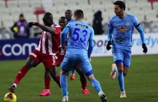 Sivasspor'un yüzü Avrupa'da gülmedi