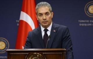 Dışişleri: AB'den Türkiye'yi tehdit etmek...