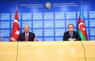 Dışişleri Bakanı Çavuşoğlu: Ermenistan'ın...