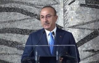"""Dışişleri Bakanı Çavuşoğlu: """"Ersin Tatar'ı..."""