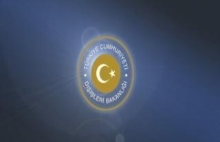 Dışişleri Bakanlığı, Beyrut'ta Türk bayrağının...