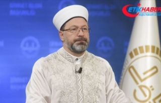 Diyanet İşleri Başkanı Erbaş: 3 Kur'an kursumuzun...
