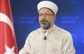 Diyanet İşleri Başkanı Erbaş: Din ile bilim arasında...