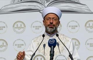 """Diyanet İşleri Başkanı Erbaş """"Camiler ve Din..."""