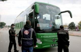 Doğu Marmara ve Batı Karadeniz'de toplu ulaşım...