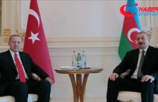 Erdoğan-Aliyev telefonda Dağlık Karabağ'ı...