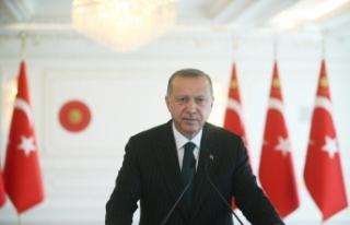 """Erdoğan: """"Peygamber Efendimize yapılan saldırılara..."""