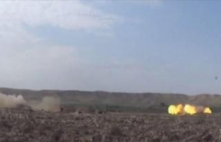 Azerbaycan ordusu Hadrut kasabasını ve birkaç köyü...