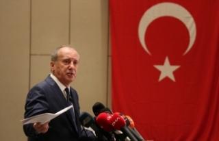 Eski CHP Milletvekili Muharrem İnce, Memleket Hareketi'nin...