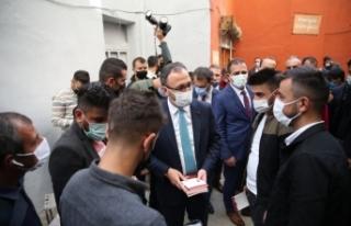 Gençlik ve Spor Bakanı Mehmet Muharrem Kasapoğlu...