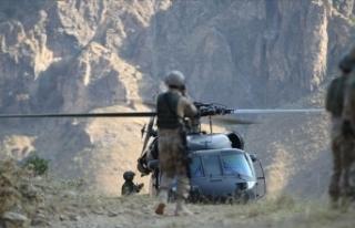 Hakkari'de etkisiz hale getirilen 2 PKK'lı...