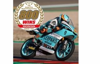 Honda MotoGP'de 800'üncü Grand Prix zaferine...