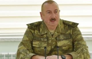 İlham Aliyev: Madagiz'de Azerbaycan bayrağı göndere...