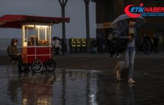 İstanbul, Kırklareli ve Tekirdağ'da sağanak...