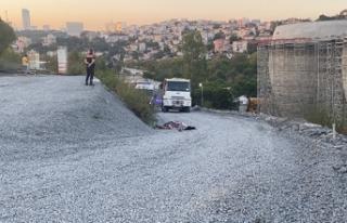 İstanbul'da şantiyede feci ölüm