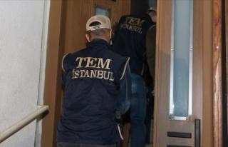 İstanbul'da terör örgütü PKK için keşif...